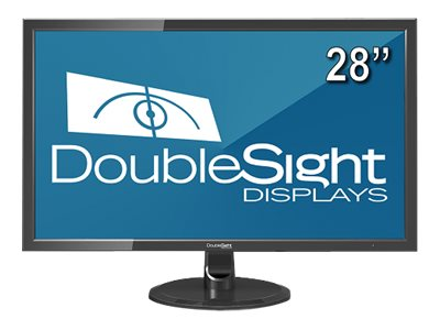DoubleSight 28 DS-280UHD 4K Ultra HD LED-LCD Display, Black