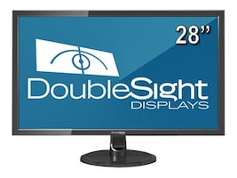 DoubleSight 28 DS-280UHD 4K Ultra HD LED-LCD Display, Black, DS-280UHD, 18662168, Monitors