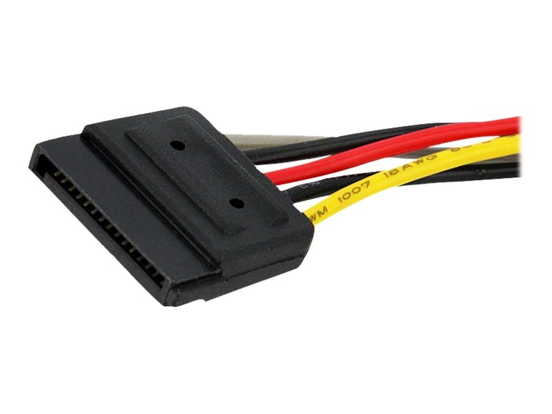 StarTech.com SATA Power Y-Splitter Cable Adapter, 6in, PYO2SATA