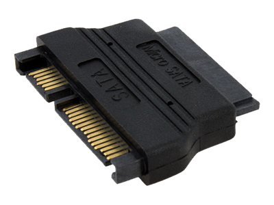 StarTech.com Micro SATA to SATA Cable Adapter with Power  (F-M), MCSATAADAP, 10194654, Adapters & Port Converters