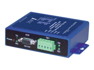 Quatech Heavy Industrial RS-232 to RS-422 485, Isolated Converter