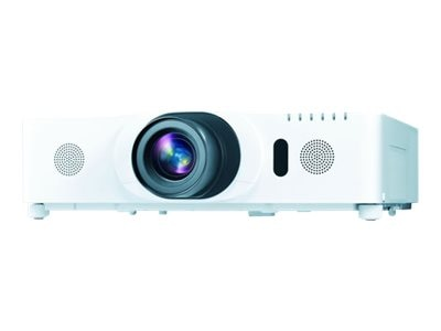 Hitachi CP-WU8451 WUXGA 3LCD Projector with Speakers, 5000 Lumens, White