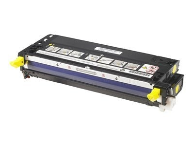 Dell Yellow High Yield Toner Cartridge for 3110CN Printers, 310-8098, 12695778, Toner and Imaging Components