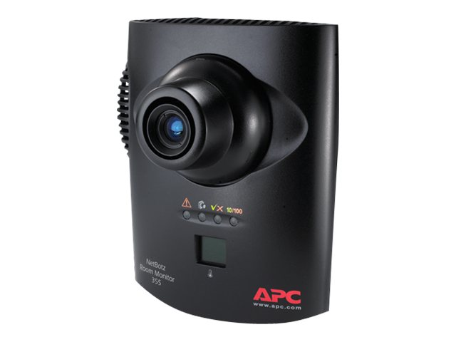 APC NetBotz Room Monitor 355 (with 120 240V PoE Injector), NBWL0356, 10094397, Security Hardware