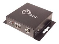 Siig HDMI over Single Coax Extender with IR, CE-H20Z11-S1, 14272015, Video Extenders & Splitters