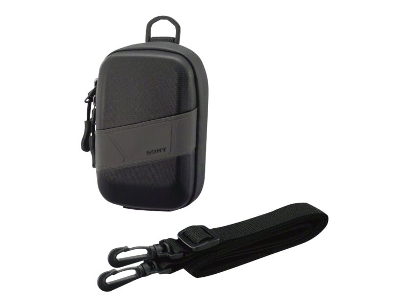 Sony Carry Case for CyberShot, Black, LCMCSVH/B, 13662071, Carrying Cases - Camera/Camcorder