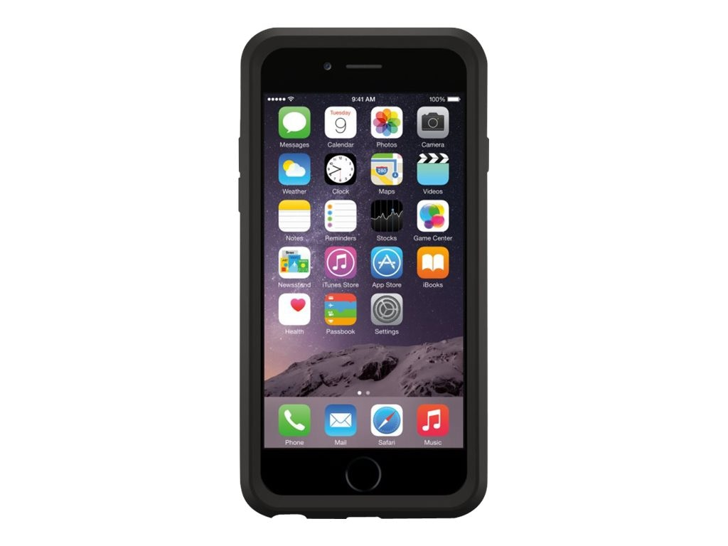 OtterBox Symmetry Series Case for iPhone 6, Black, 77-50225, 17933712, Carrying Cases - Phones/PDAs