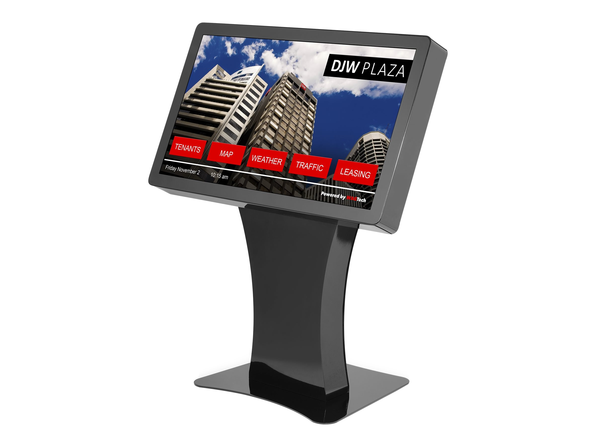 NEC 42 Full HD LED-LCD Touchscreen Landscape Kiosk, Black, NEC-KIOSK-LAND-B