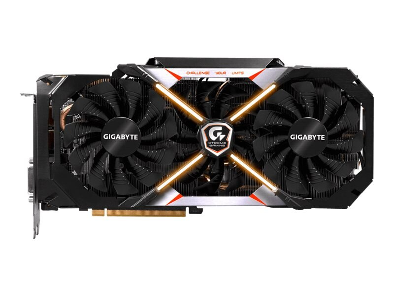 Gigabyte Tech Geforce GTX1080 PCIe 3.0 x16 Graphics Card, 8GB GDDR5X, GV-N1080XTREME-8GD