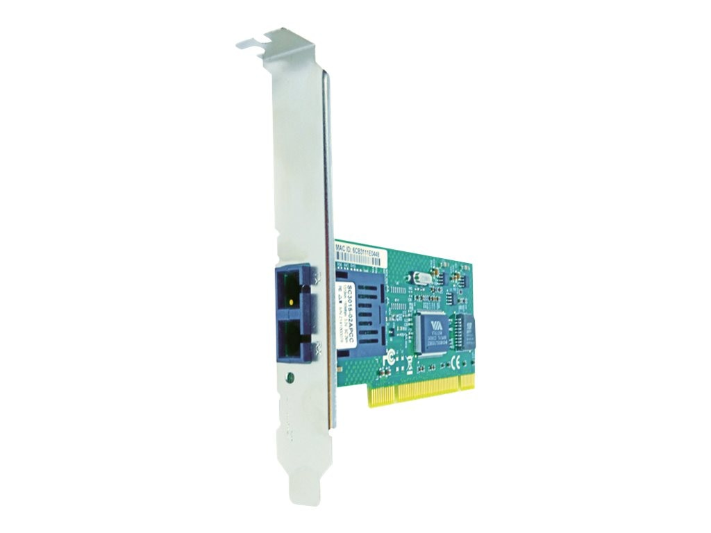 Axiom 1-Port 100Mbs SC 10km SMF PCI NIC