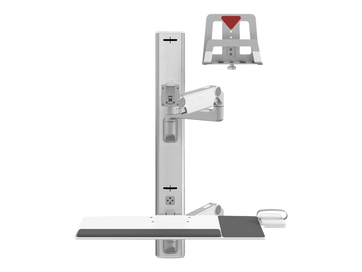 Humanscale V6 Wall Station, 37 Track, 9 Straight 12 Dynamic Arm