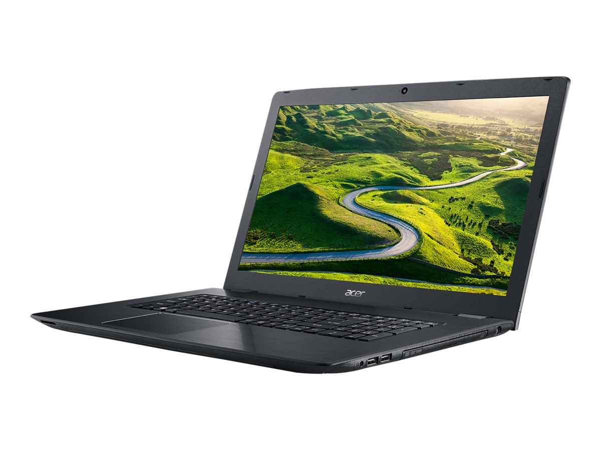 Acer Aspire E5-774-50SY Core i5-7200 2.5GHz 8GB 1TB DVD ac GNIC BT WC 4C 17.3 HD+ W10H64 Black