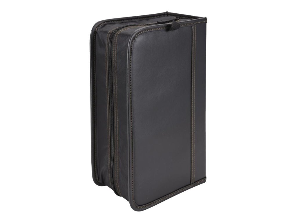 Case Logic 136 Capacity CD Wallet - Black, KSW-128TBlack