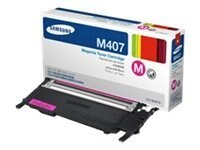 Samsung Magenta Toner Cartridge for CLP-325W & CLX-3185FW, CLT-M407S, 12370720, Toner and Imaging Components