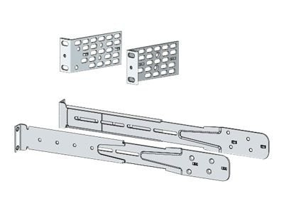 Cisco Extension Rails and Brackets for Four-Point Mounting, Includes 19 Brackets, C3KX-4PT-KIT=, 12417356, Rack Mount Accessories