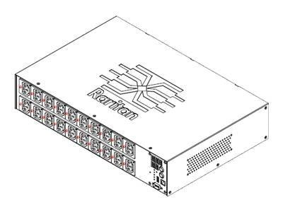 Raritan Switched PDU 200-240VAC 24A IEC60320 2U C-13 L6-30P, PX2-5460R-E2, 12646280, Power Distribution Units