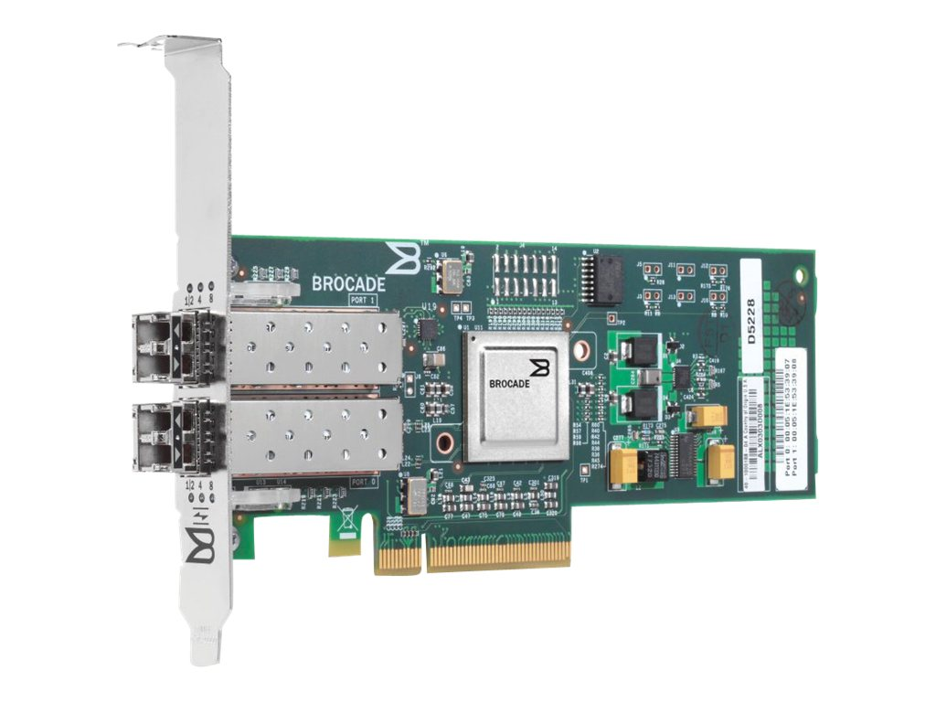 HPE 82B 8Gb 2-port PCIe Fibre Channel Host Bus Adapter, AP770B, 14665601, Host Bus Adapters (HBAs)