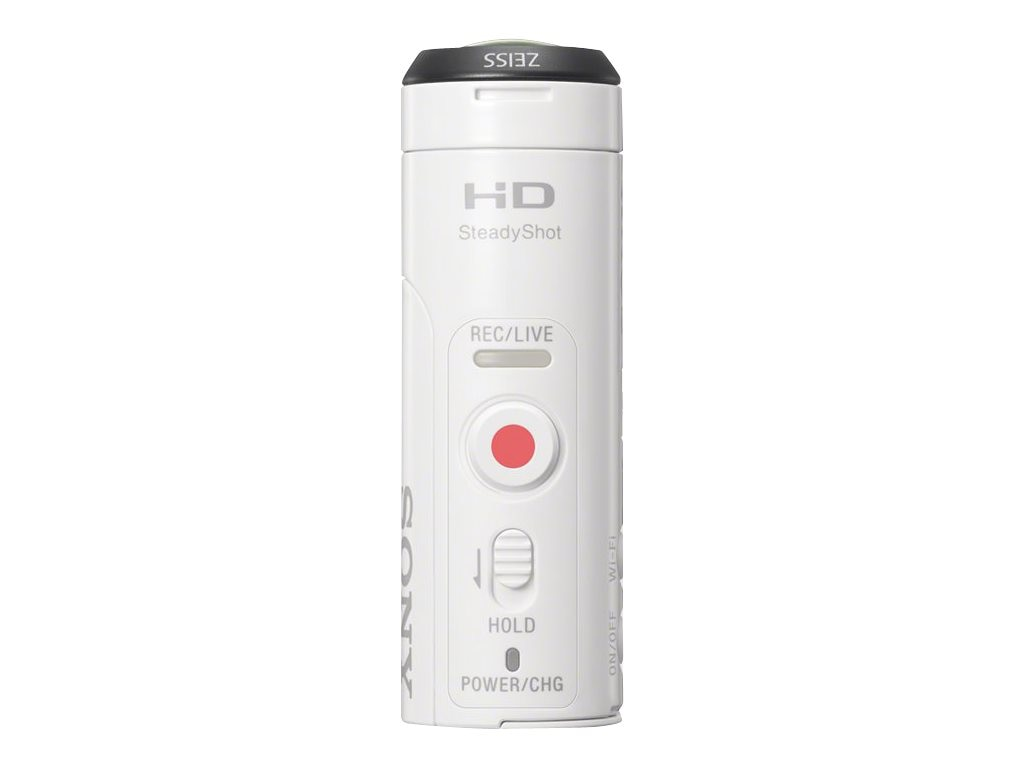 Sony 11.9MP POV HD Camcorder + Live View Remote, HDRAZ1VR/W