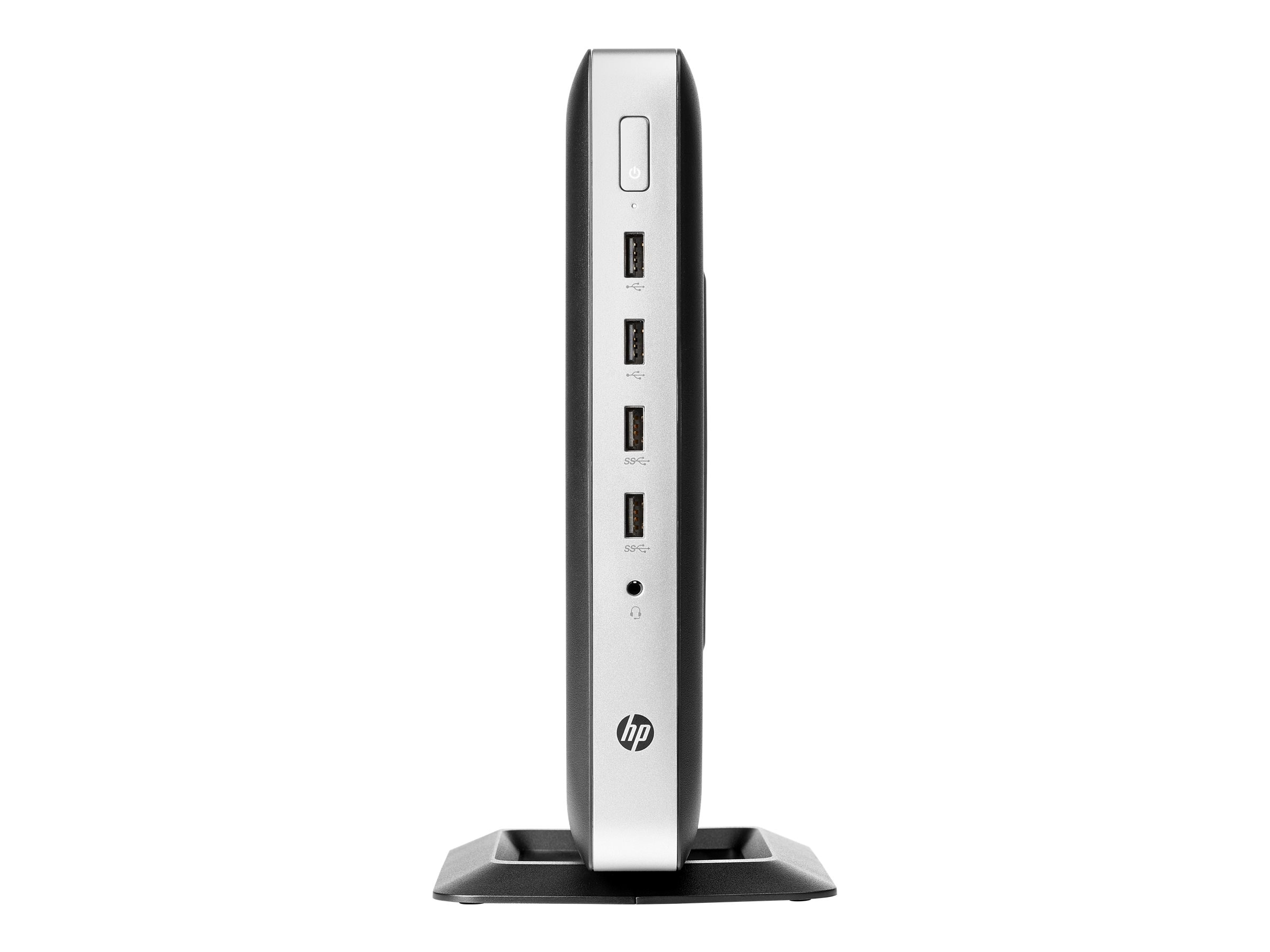 HP t630 Thin Client AMD GX-420GI 2.0GHz 4GB 16GB Flash R6E GbE ac VGA ThinPro, W5Y95UA#ABA