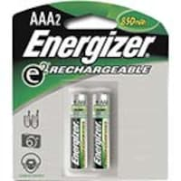 Energizer Battery, NiMH Rechargeable AAA 850mAh (2-pack), NH12BP-2, 9554940, Batteries - Other