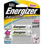 Energizer Battery, Advanced Lithium AA (2-pack), EA91BP-2, 9556187, Batteries - Other