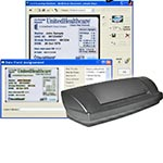Acuant MedicScan OCR True Parse with ScanShell 800DX Duplex A6 Scanner