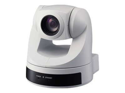 Sony P T Z Color Video Camera - White