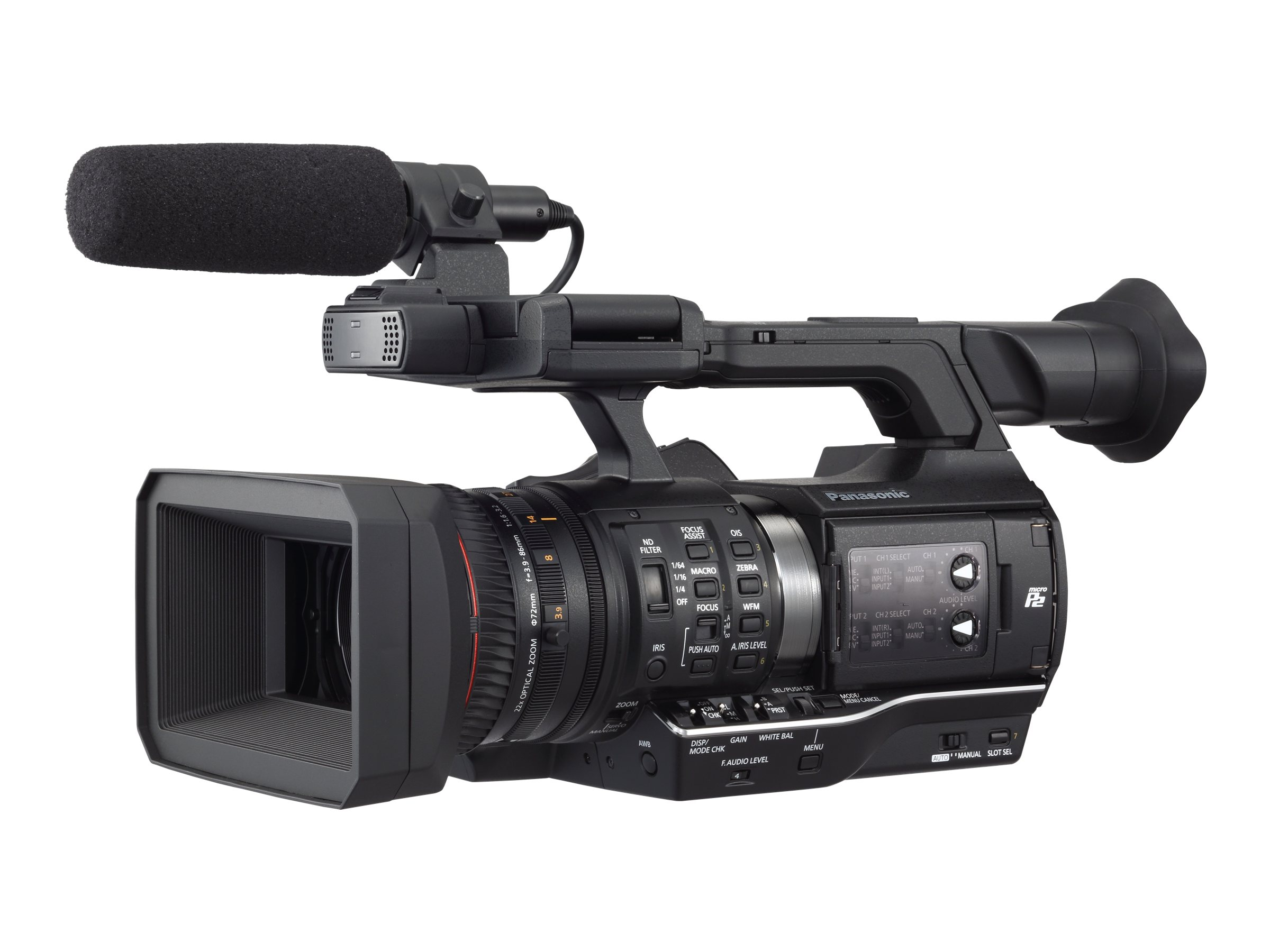 Panasonic Handheld P2 HD Camcorder with AVC-ULTRA Recording