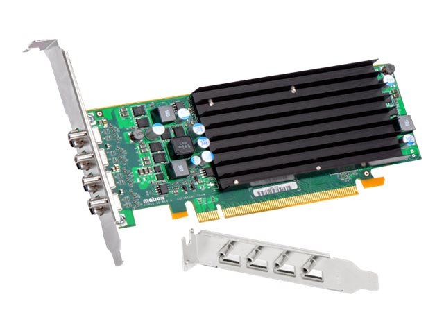 Matrox C420 PCIe 3.0 x16 Low-Profile Graphics Card, 2GB GDDR5, C420-E2GBLAF