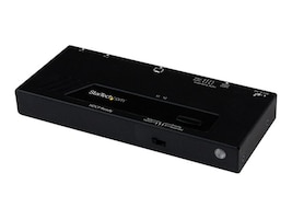 StarTech.com 2 Port HDMI Switch w  Automatic and Priority Switching - 1080p, VS221HDQ, 16950078, Switch Boxes - AV