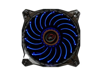 Enermax Casino 120mm Case Fan with Vortex Frame, Blue LED, LP-VC1C12P, 16342110, Cooling Systems/Fans