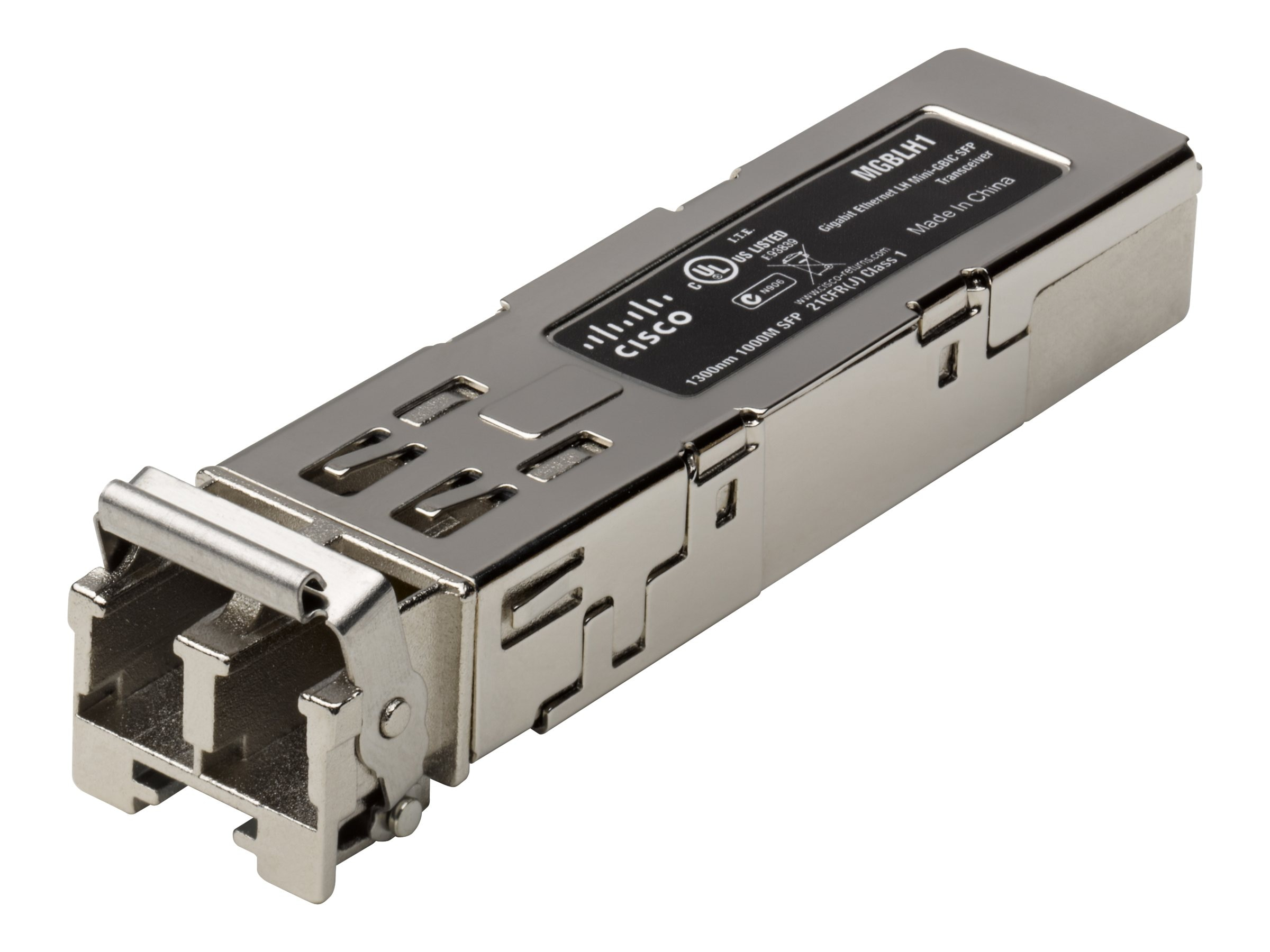 Cisco Gigabit Ethernet LH Mini-GBIC SFP Transceiver, MGBLH1, 5180240, Network Device Modules & Accessories