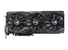 Asus AMD Radeon RX 580 PCIe Overclocked Graphics Card, 8GB GDDR5, ROG-STRIX-RX580-O8G-GAMING, 33988300, Graphics/Video Accelerators