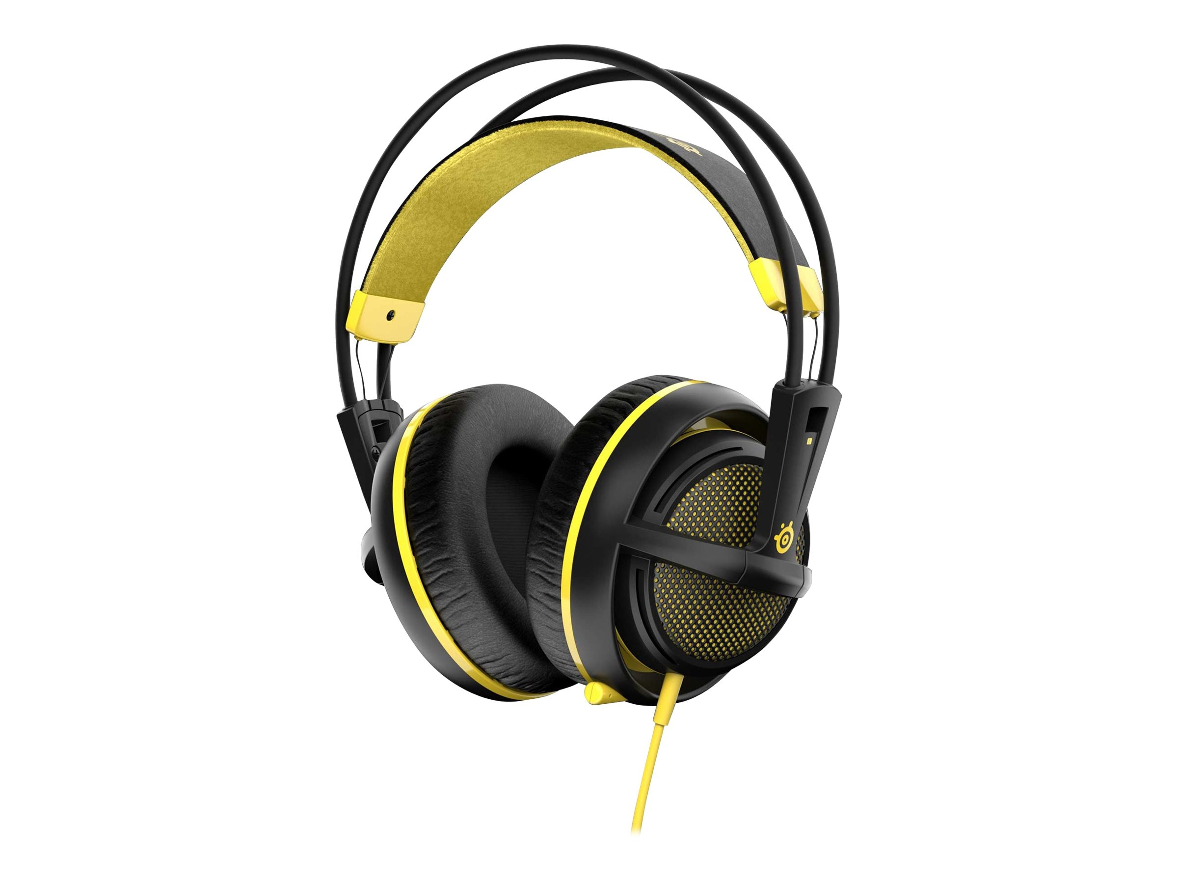 Steelseries Siberia 200 Headset - Yellow, 51138, 30806671, Headsets (w/ microphone)