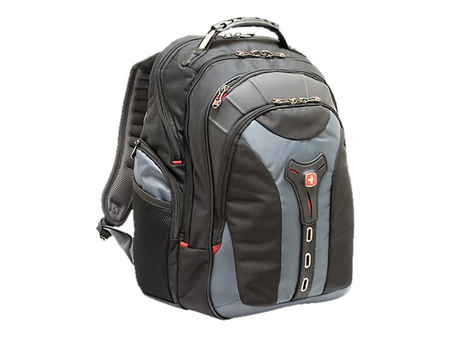 Wenger Pegasus 17 Laptop Backpack, Black Gray, GA-7306-06F00, 9870803, Carrying Cases - Notebook