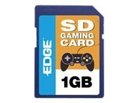 Edge 1GB SD Gaming Memory Card, PE222666, 10041156, Memory - Flash