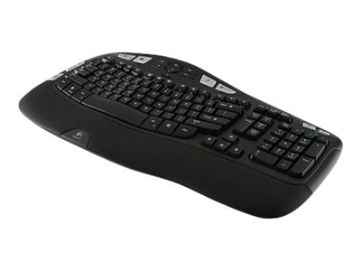 Logitech Wireless Keyboard K350, Wave Design, 920-001996