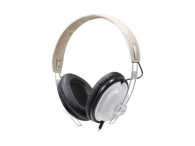 Panasonic Old School Monitor Stereo Headphones, White, RP-HTX7-W1, 8813330, Headphones