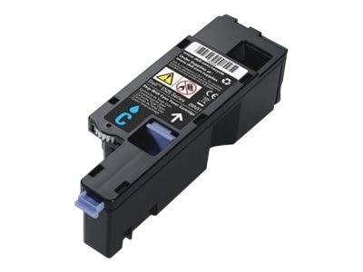 Dell 1400 Page Cyan Toner Cartridge for Dell E525w Color Multifunction Printer (593-BBJU), H5WFX