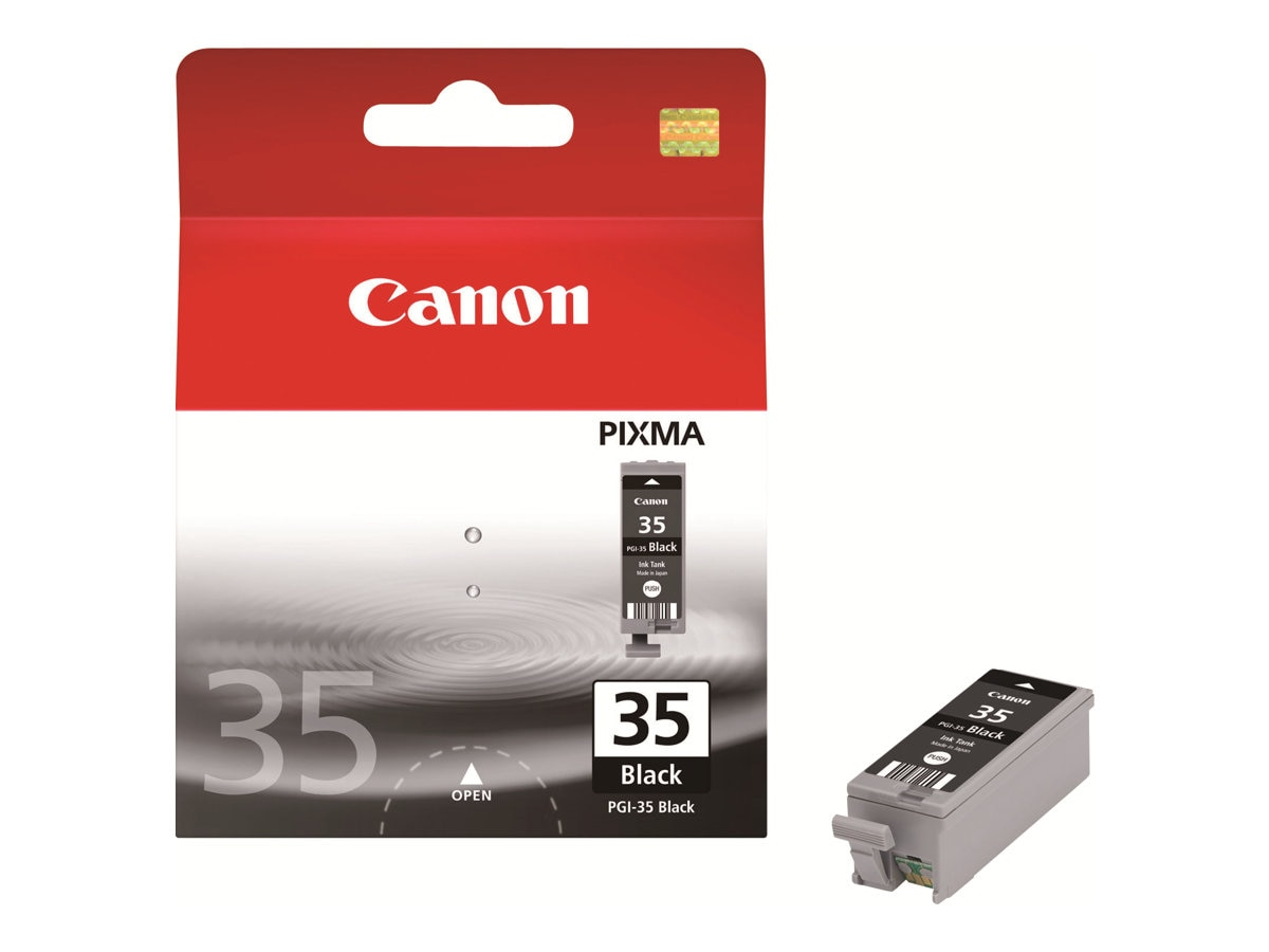 Canon Black PGI-35 Ink Cartridge, 1509B020, 8474083, Ink Cartridges & Ink Refill Kits