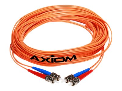 Axiom Fiber Patch Cable, SC-ST, 62.5 125, Mutlimode, Duplex, 3m, SCSTMD6O-3M-AX