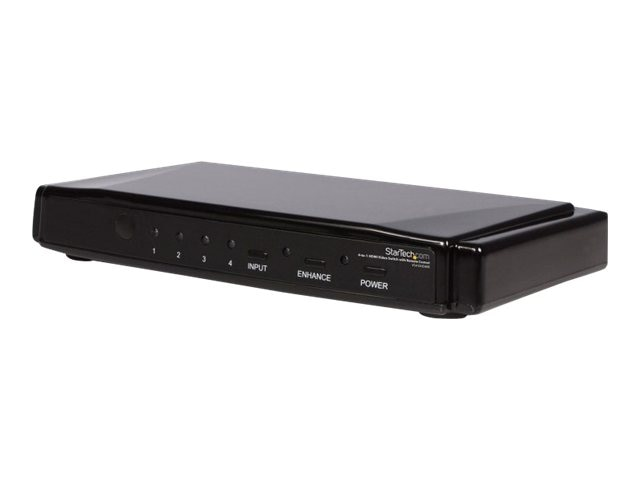 StarTech.com 4-to-1 HDMI 1.3 Switch, VS410HDMIE, 8799831, Switch Boxes - AV
