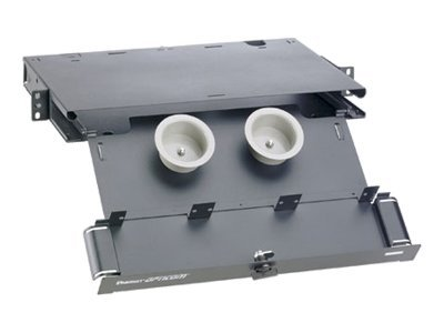 Panduit Enclosure for up to (3) FAP or FMP Adapter Panels, FRME1, 31097167, Premise Wiring Equipment