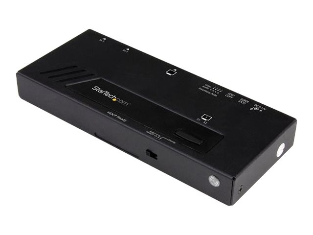 StarTech.com 2-Port HDMI Automatic Video Switch 4K w  Fast Switching, VS221HD4KA