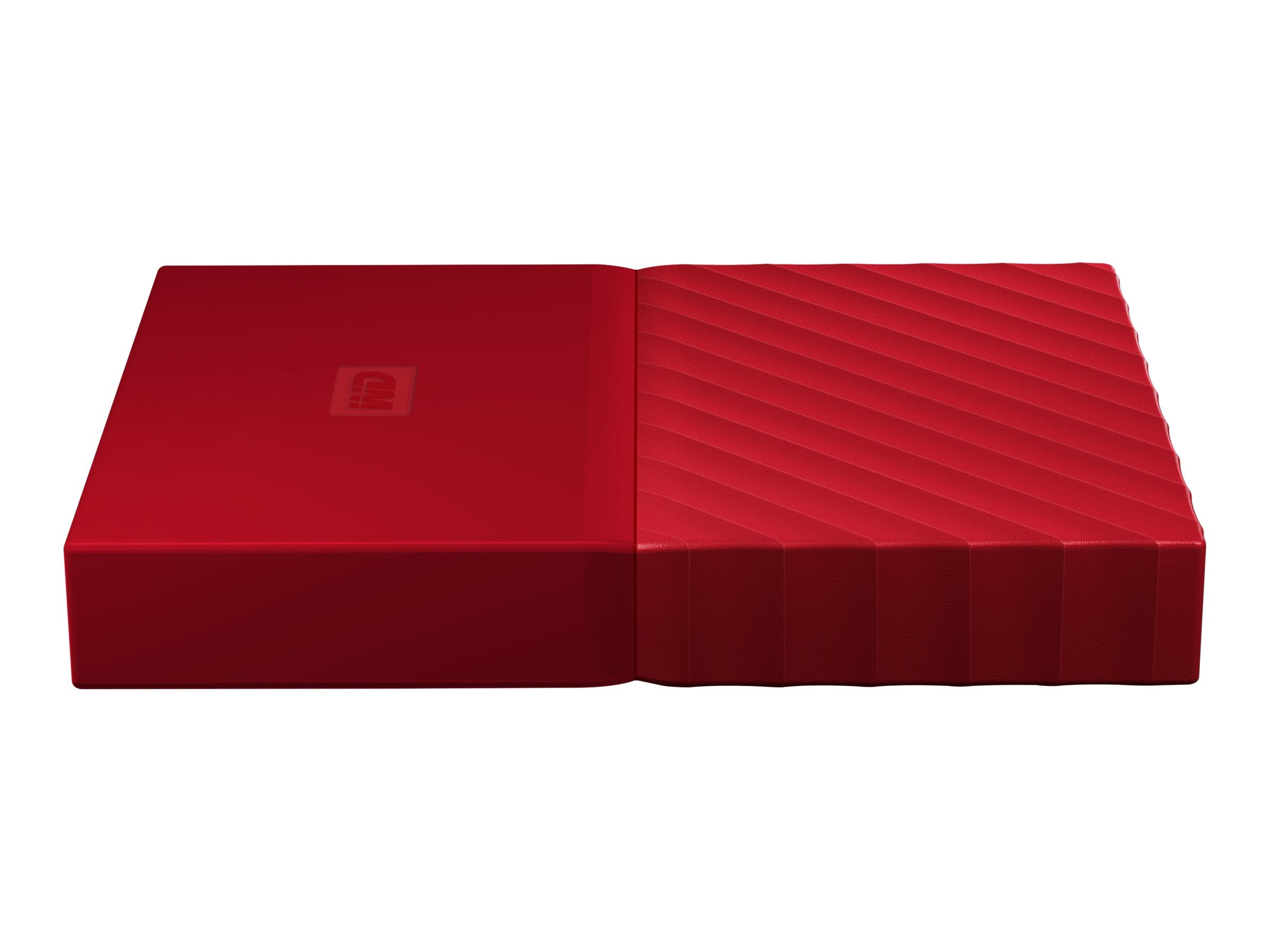 WD 1TB My Passport USB 3.0 Portable Hard Drive - Red, WDBYNN0010BRD-WESN