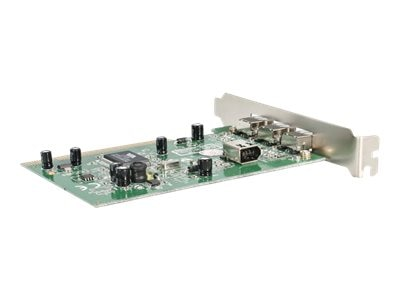 StarTech.com 4-port IEEE 1394 FireWire PCI Card with Digital Video Editing Kit
