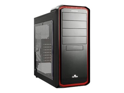 Enermax Chassis, Ostrog Tower ATX 6x3.5 Bays 7xSlots, Black and Red, ECA3253-BR