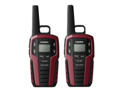 Uniden GMRS FRS RADIO 32-Mile Two Way Radio w  121 Privacy Codes & Weather Alert, SX327-2CKHS