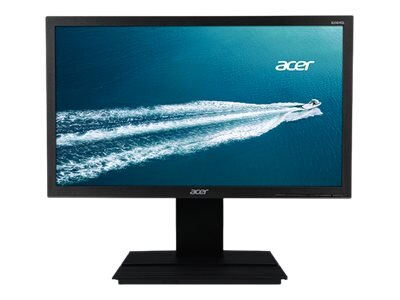 Acer 19.5 LED-LCD Monitor, Black, UM.IB6AA.A01, 30944791, Monitors - LED-LCD