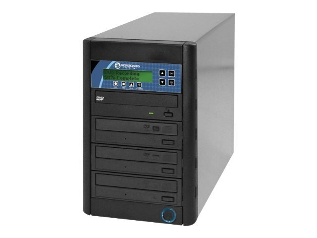 Microboards Premium DVD CD Tower Copier (3-Recorders)